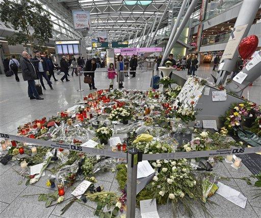 Germany France Plane Crash_116501