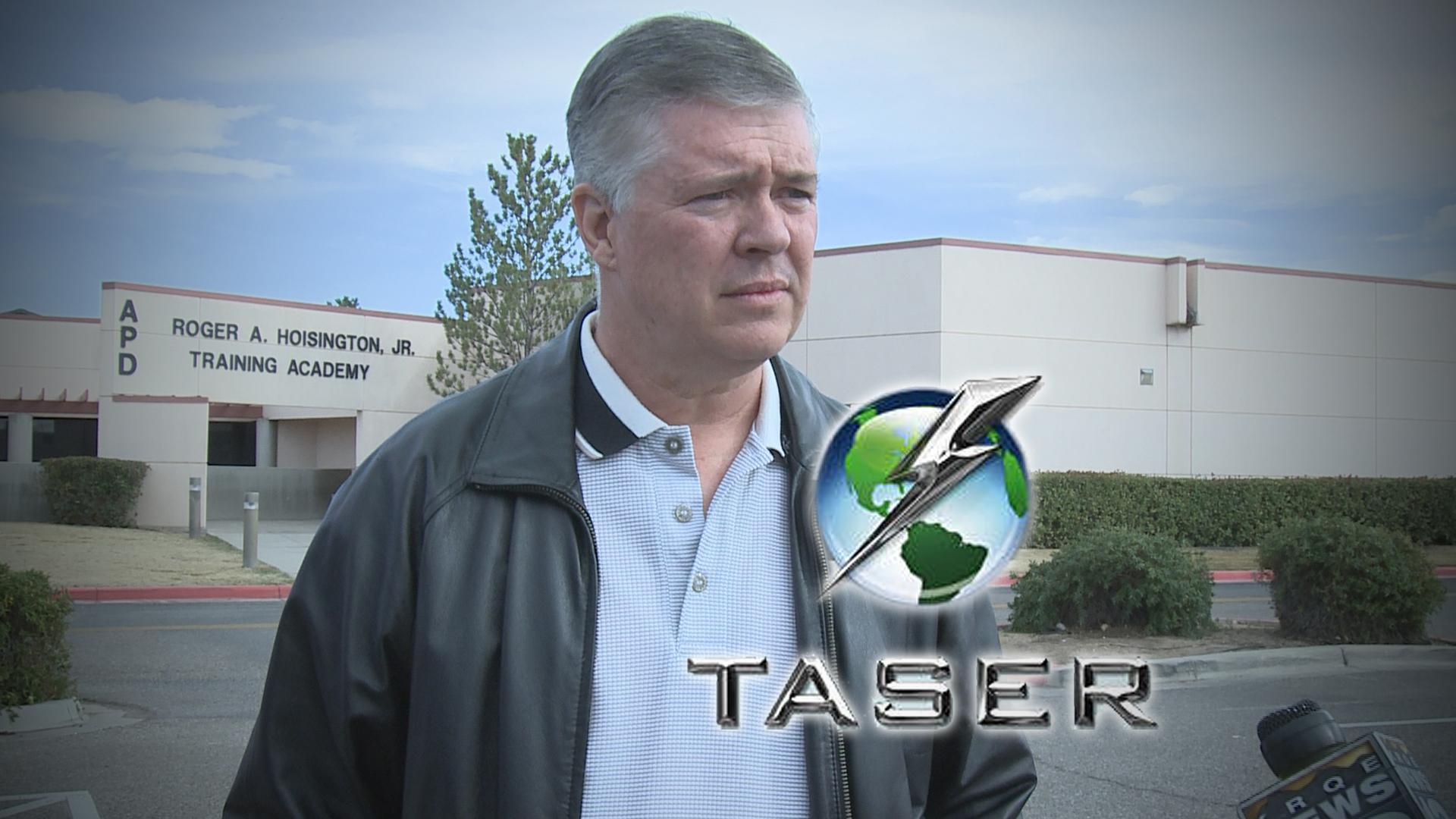 Ray Schultz Taser Logo_109928