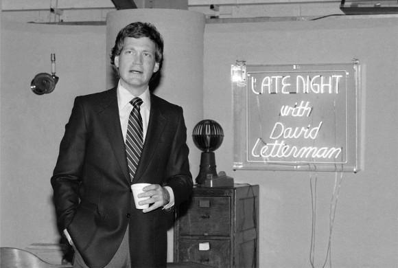David Letterman announces late night show_143898