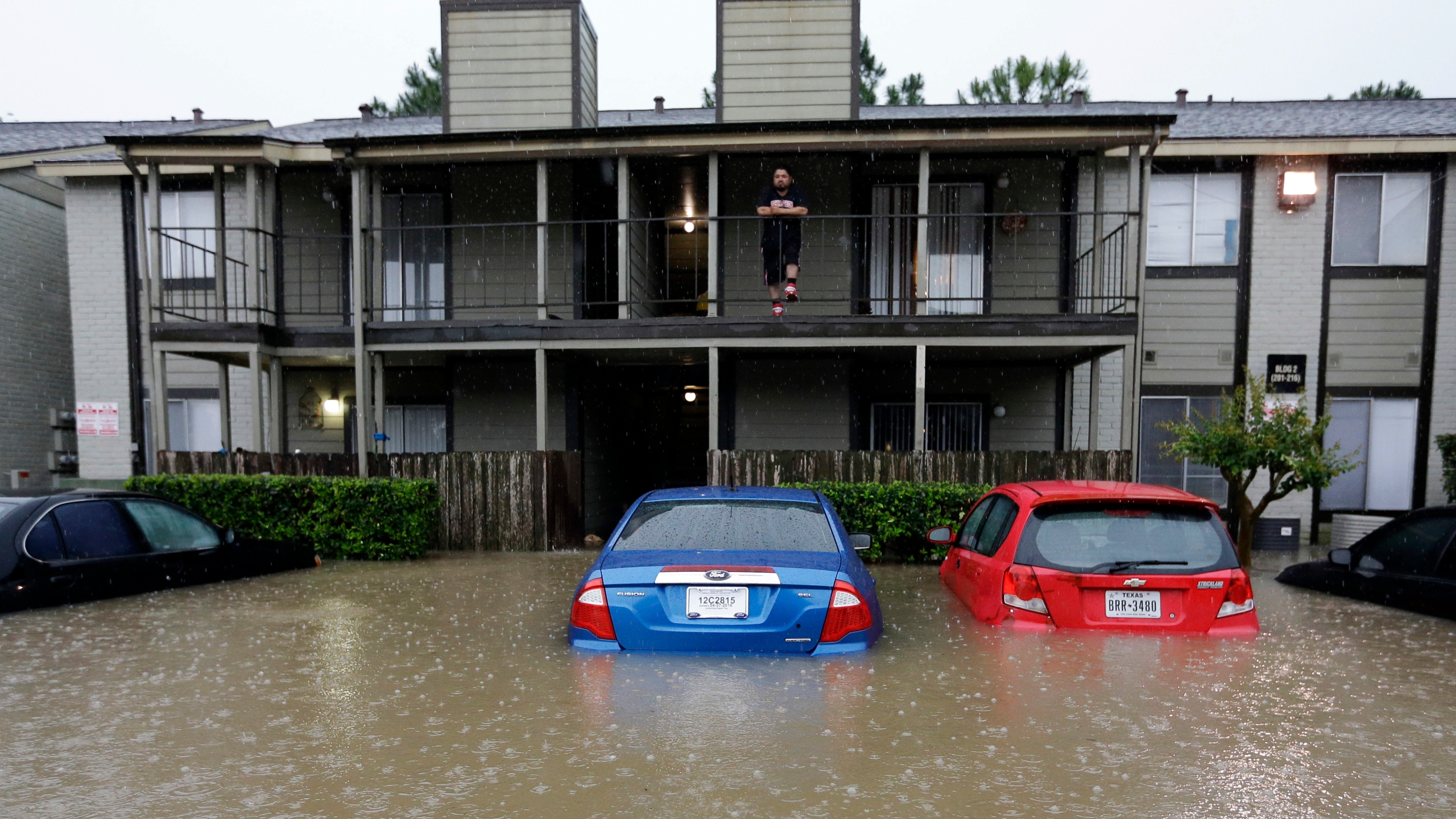 Houston Area Submerged After 16 Inches Of Rain In 24 Hours