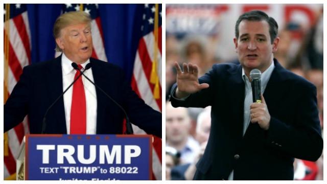 AP photos of Trump_Cruz_343288