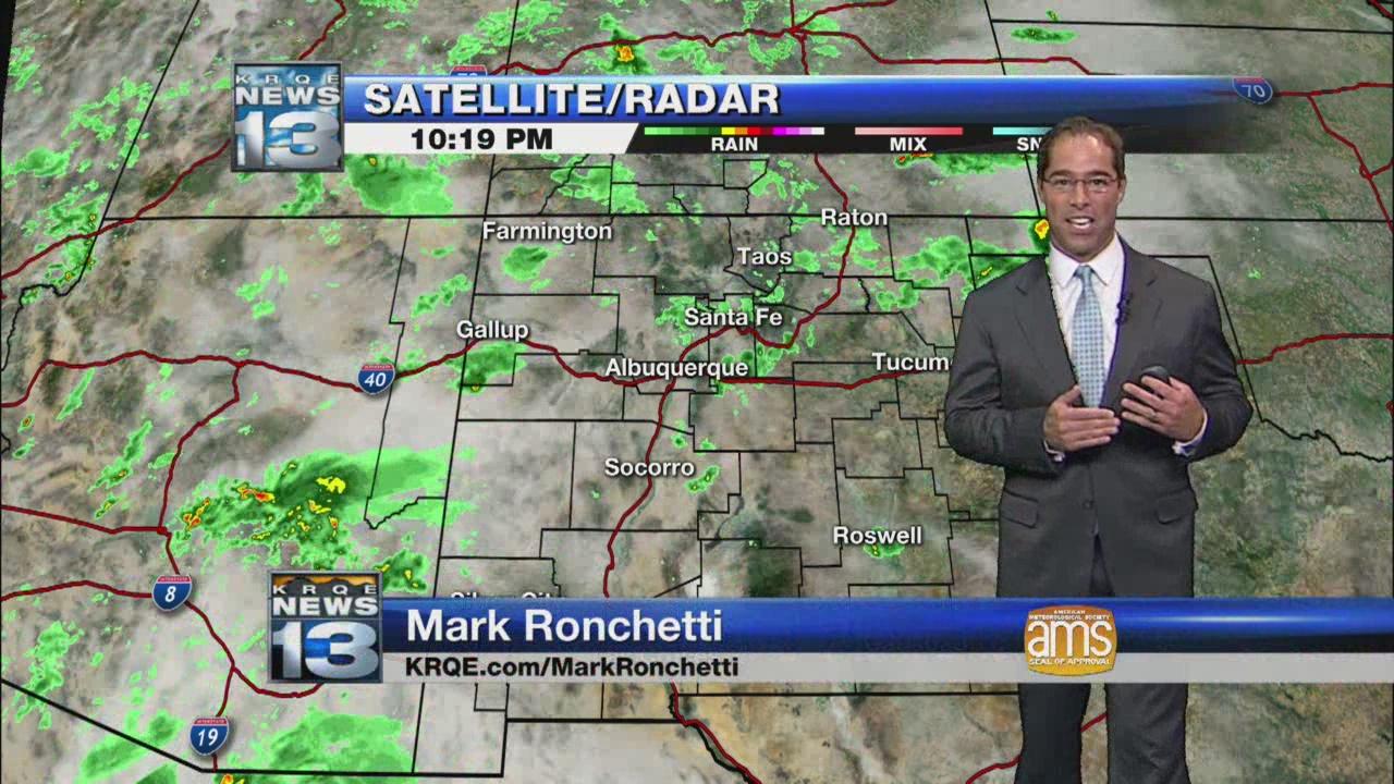 Mark's Wednesday Evening Weather Report