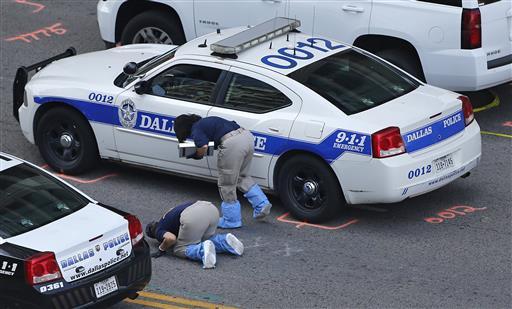 Police Shootings Dallas_399935