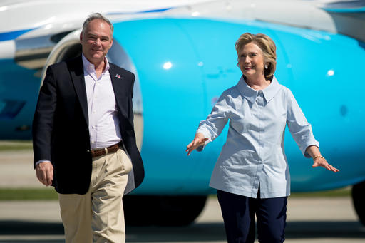 Hillary Clinton, Tim Kaine_433058