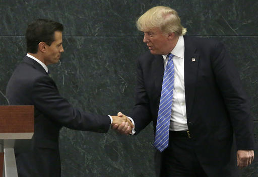 Enrique Pena Nieto, Donald Trump_428246