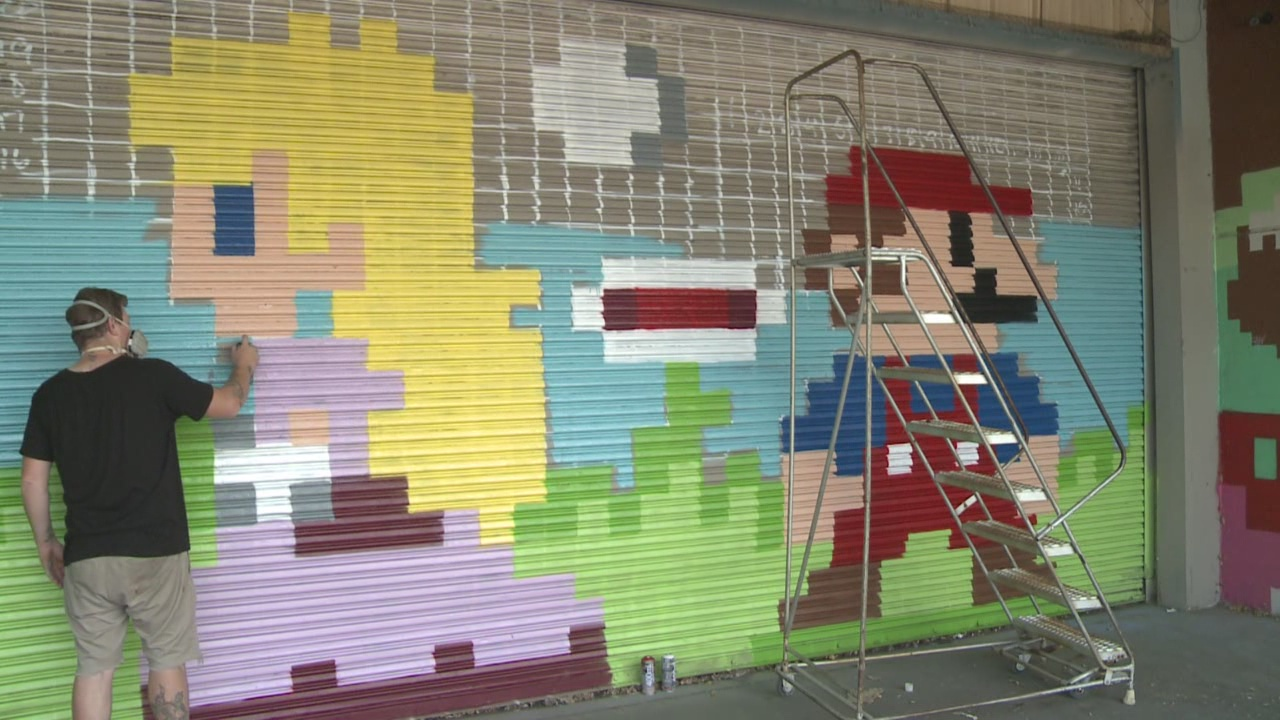 Super Mario Bros. Mural_432830