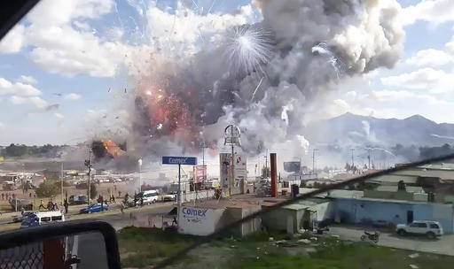 Mexico Fire Explosion_494793