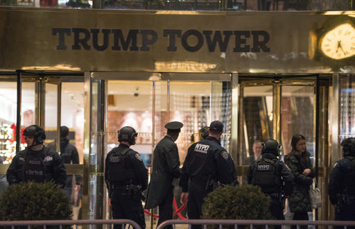Trump Tower Suspicious Package_497912
