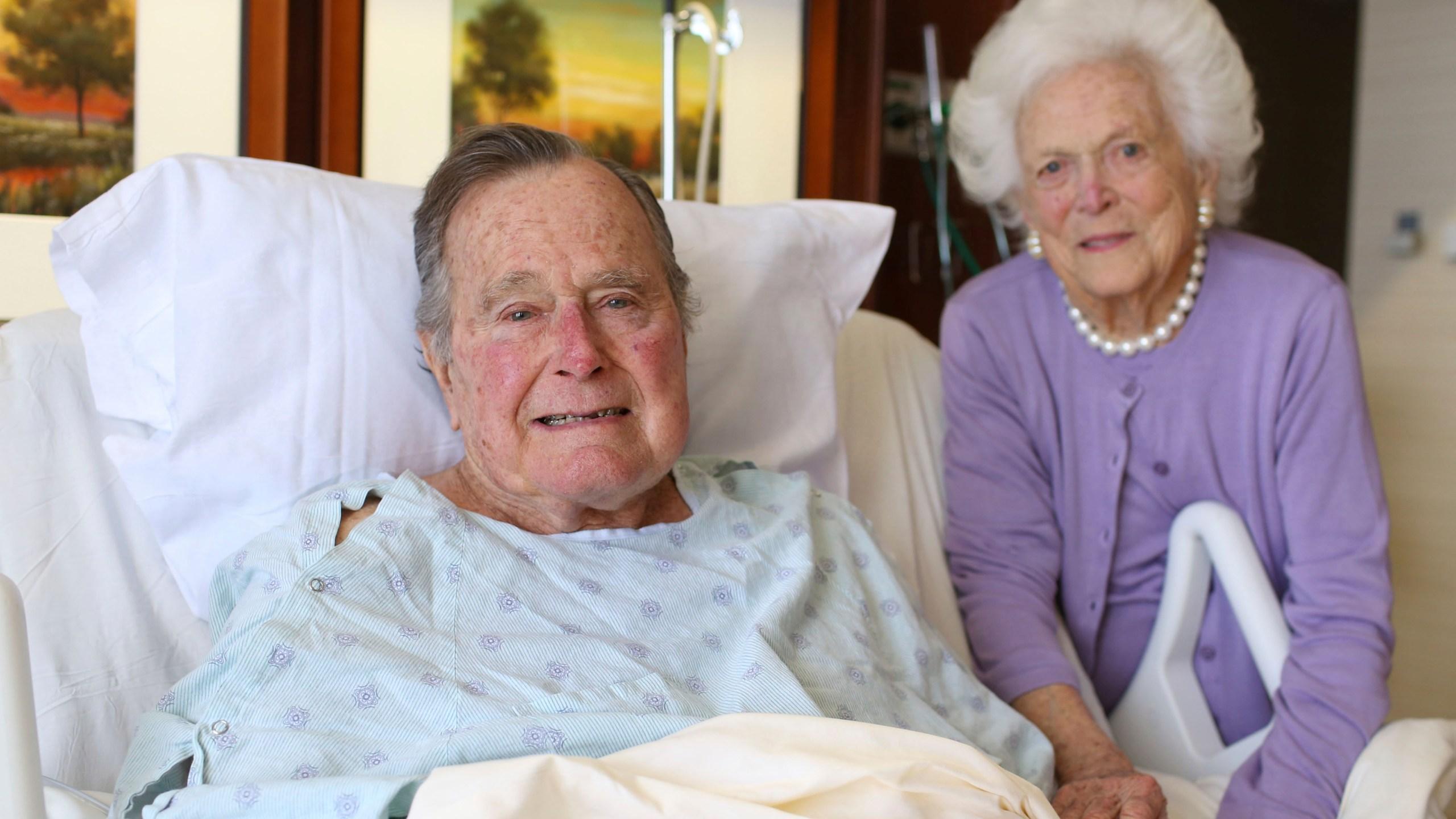APTOPIX George H W Bush Hospitalized_516199