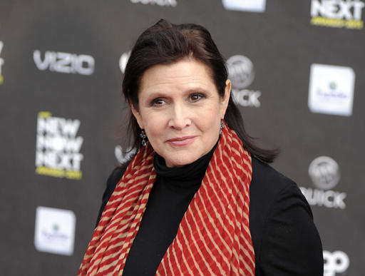 AP-Carrie Fisher_507174