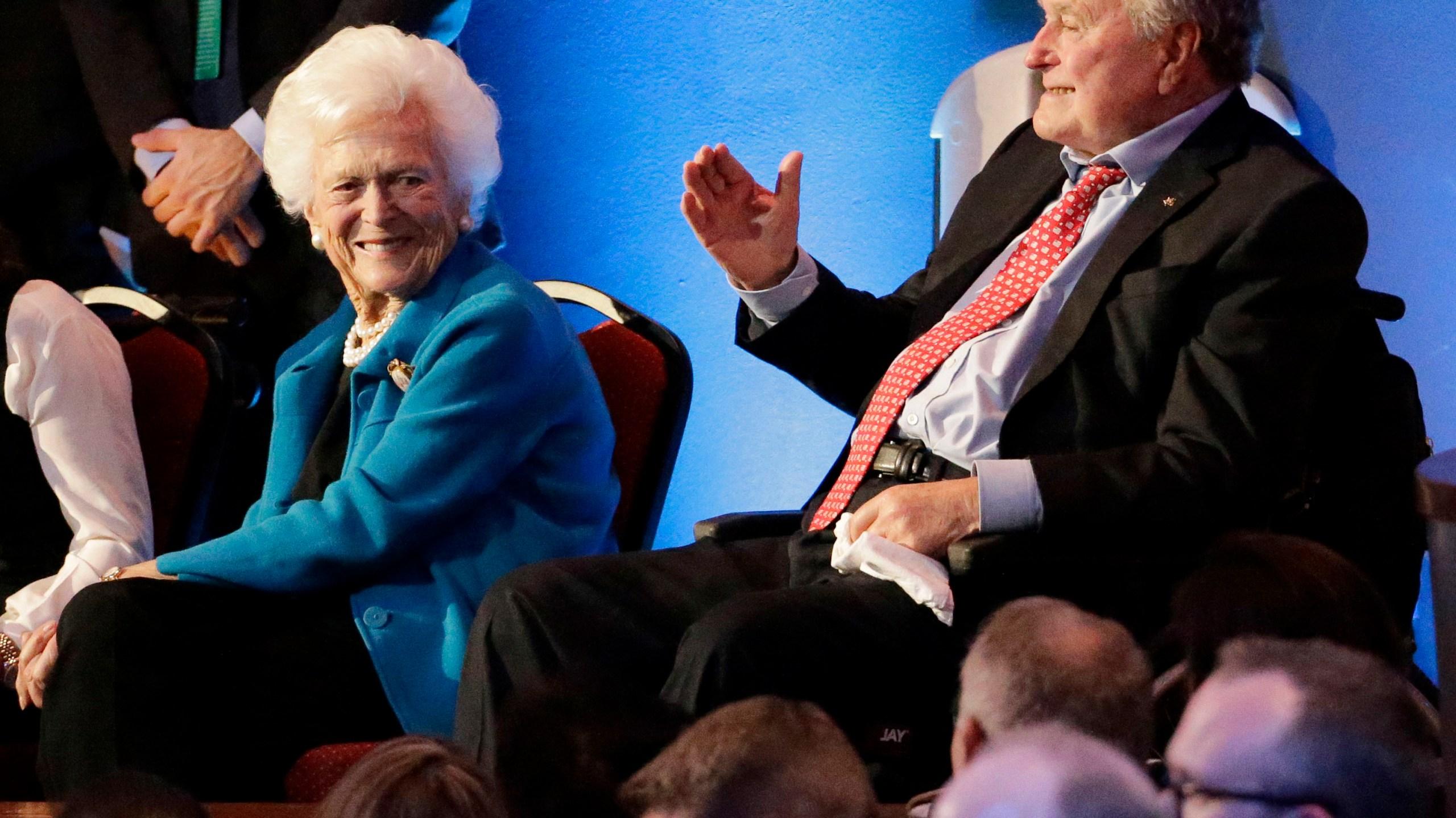 George Bush, Barbara Bush_509855