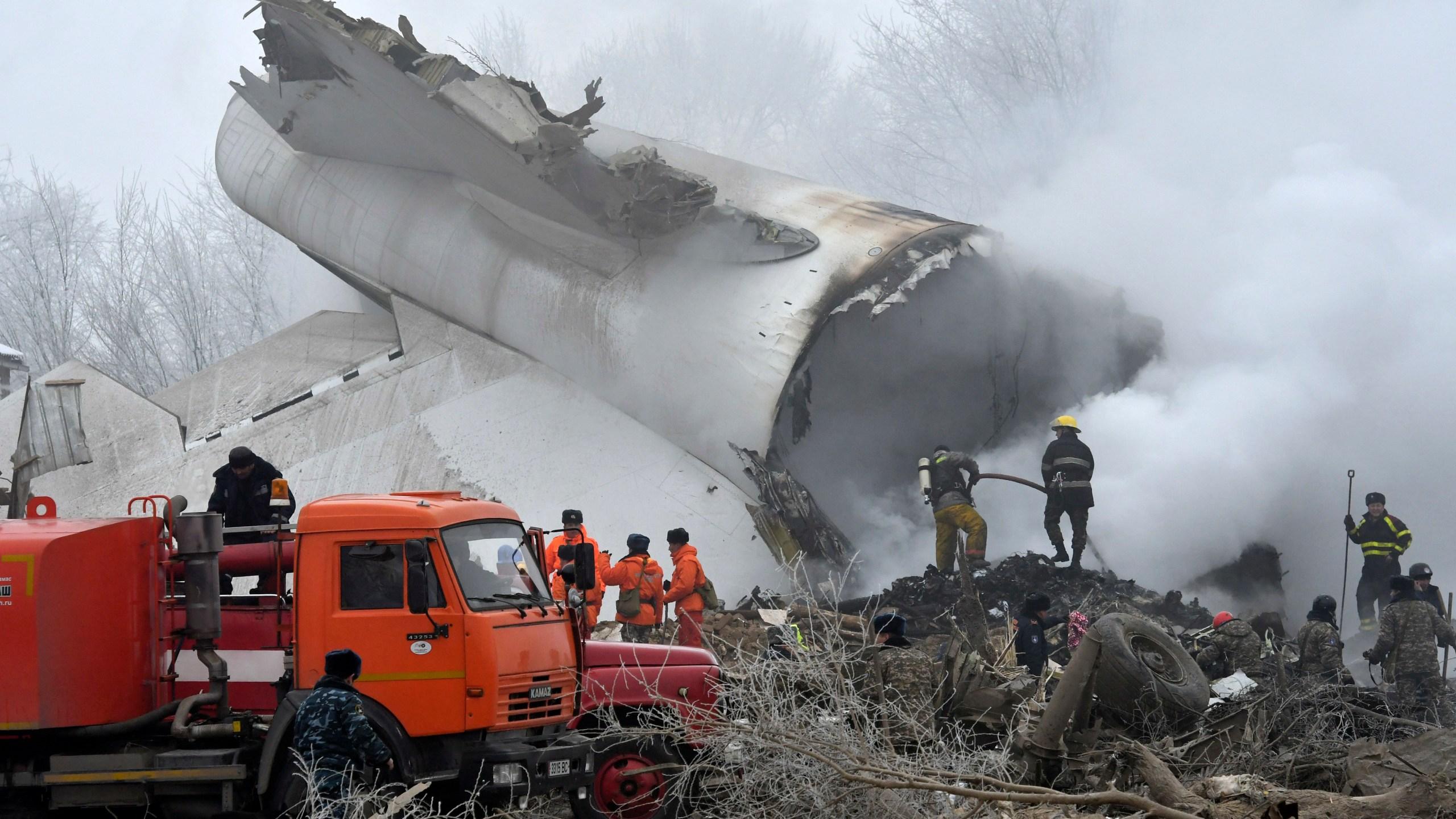 Kyrgyzstan Plane Crash_508041