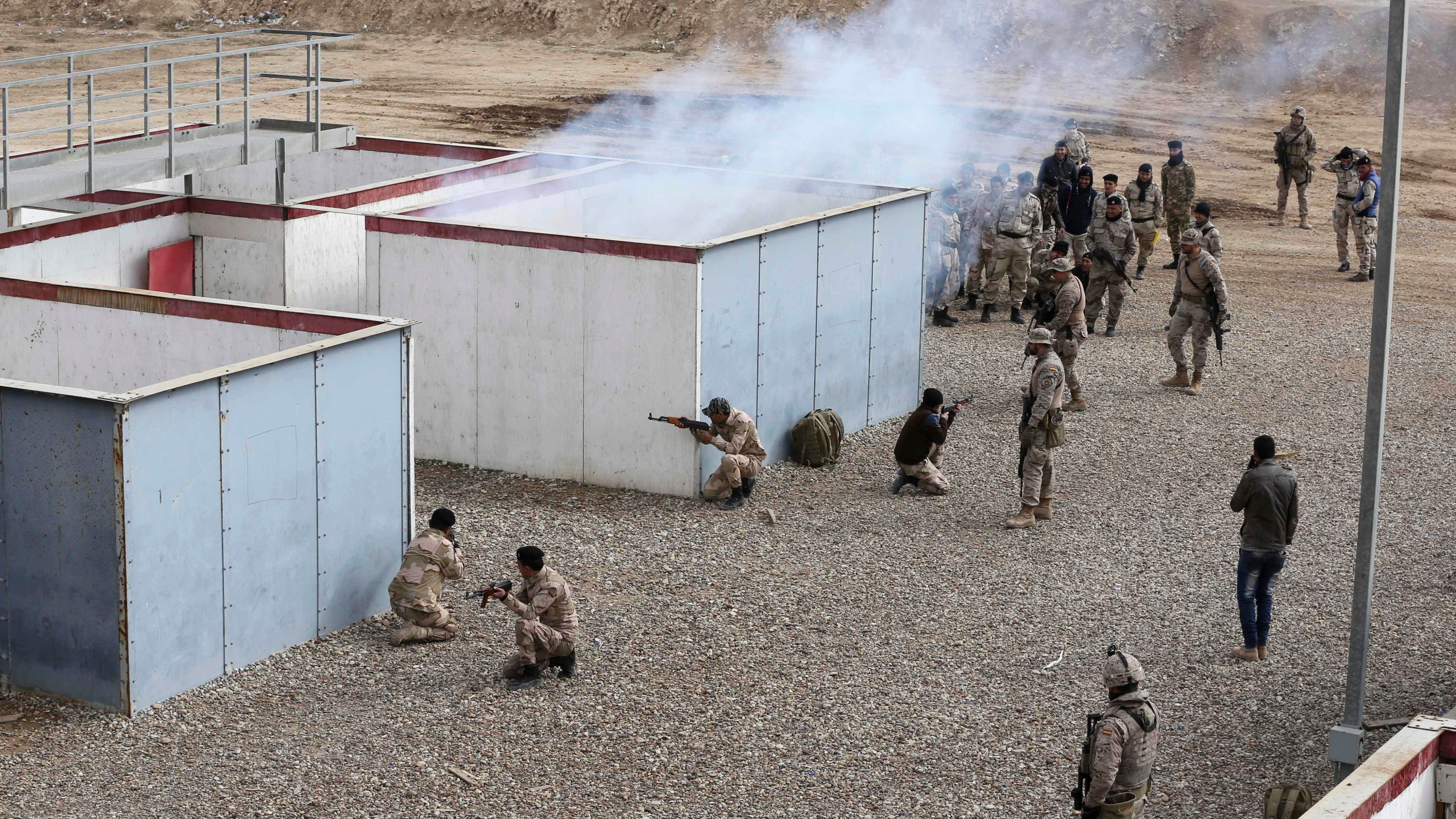 Iraq Mosul Police_518969