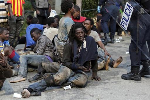 Spain Europe Migrants_533679