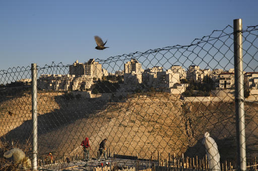 APTOPIX Israel Settlements_525289