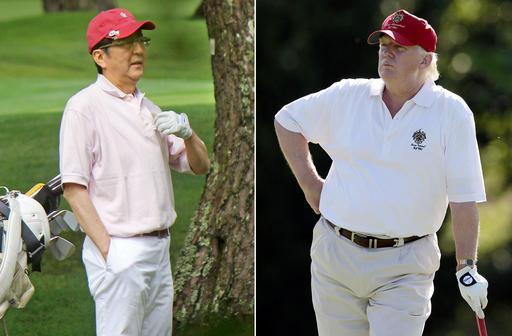 Donald Trump, Shinzo Abe_527474