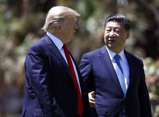Donald Trump, Xi Jinping_570262