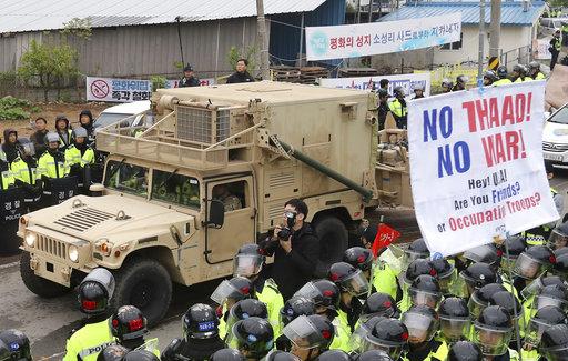 South Korea Koreas Tension Missile Defense_579640