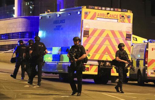 Britain Ariana Grande Concert Blast_598247