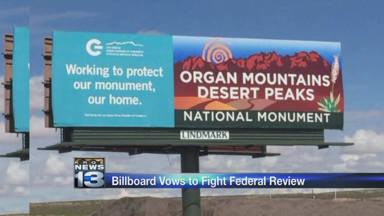 Billboard vows to fight National Monument review_642117