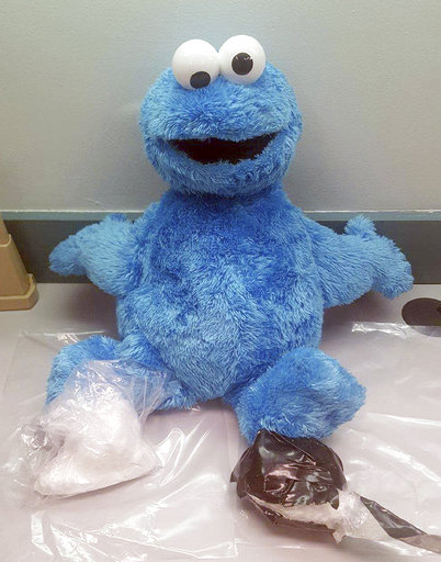 Cookie Monster Doll Cocaine_632810