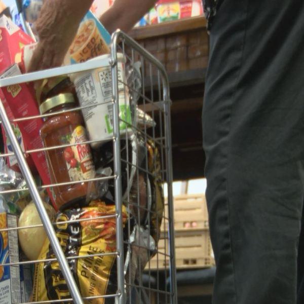 Seniors shop at Silver Horizons food pantry_634709
