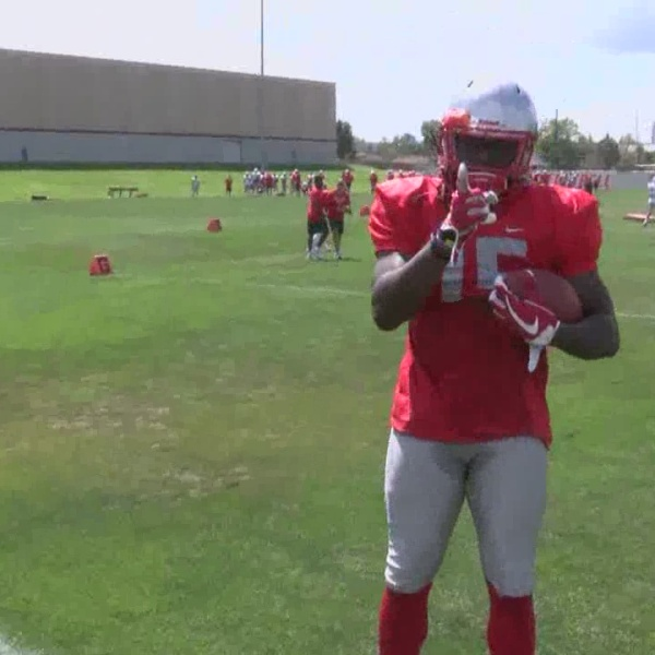 UNM's Emmanuel Harris and Chris Davis are ready to step up