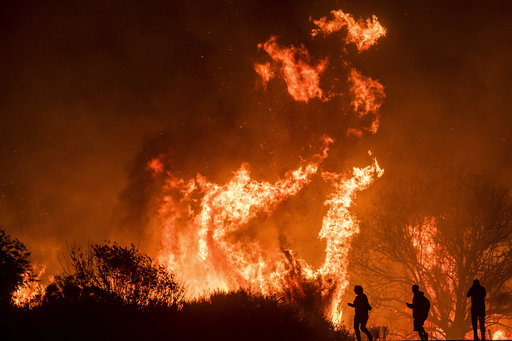 APTOPIX California Wildfires_742919