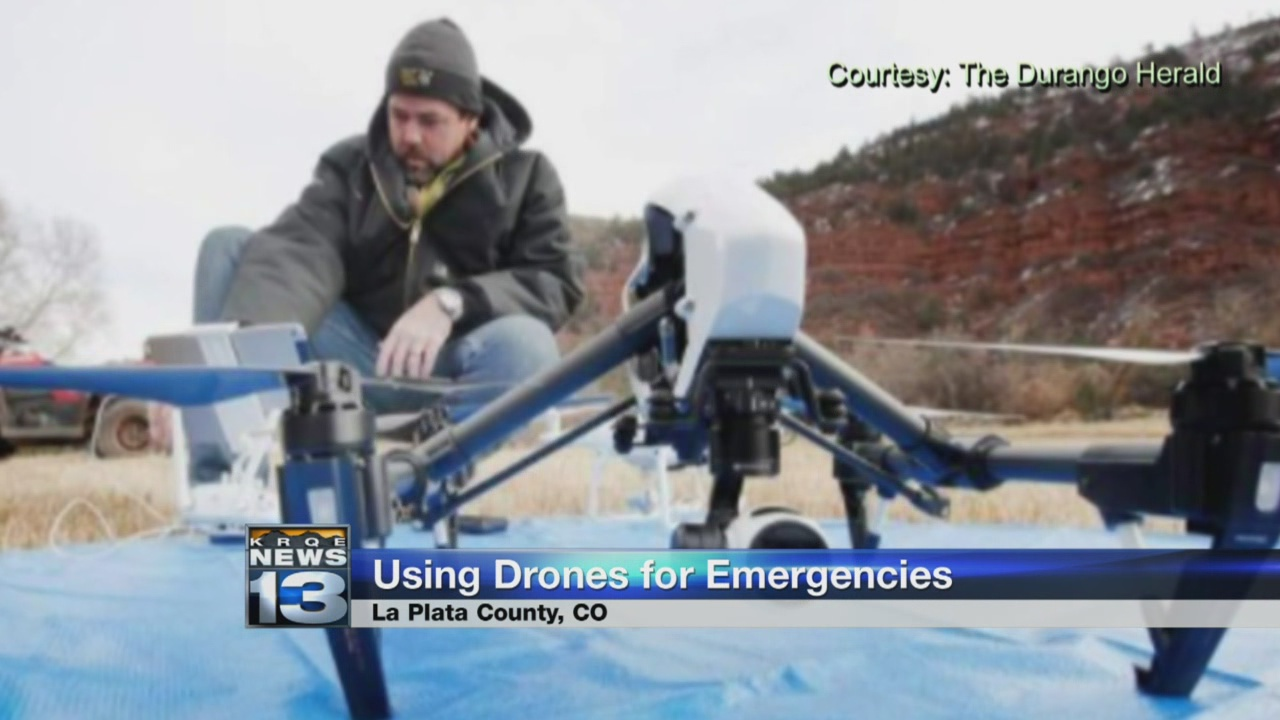 La Plata County Sheriffs to use drones in emergency situations_777447