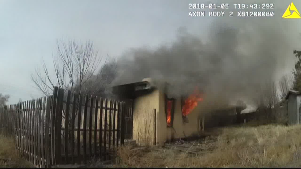 Man admitted to setting mother's house on fire_766458
