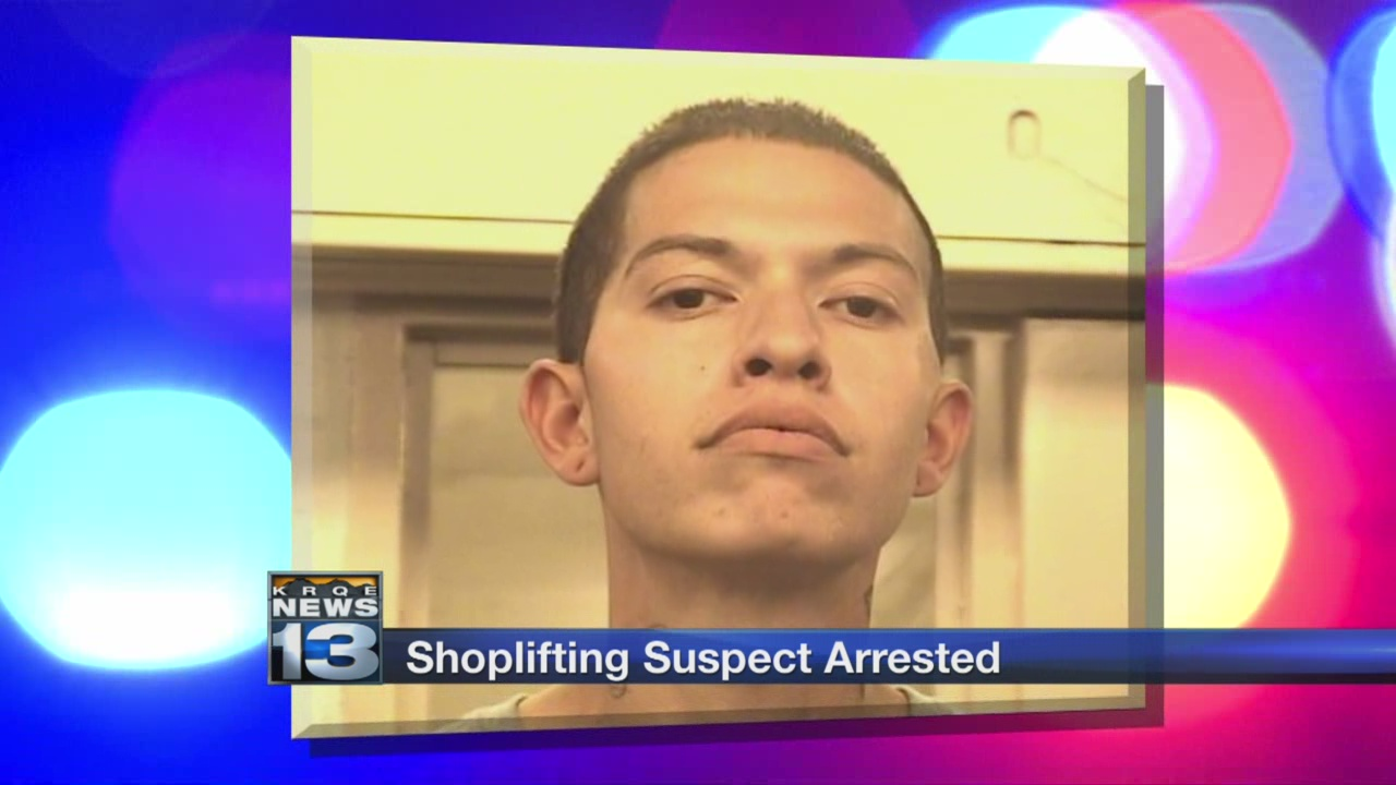 shoplifting suspect arrested_764515