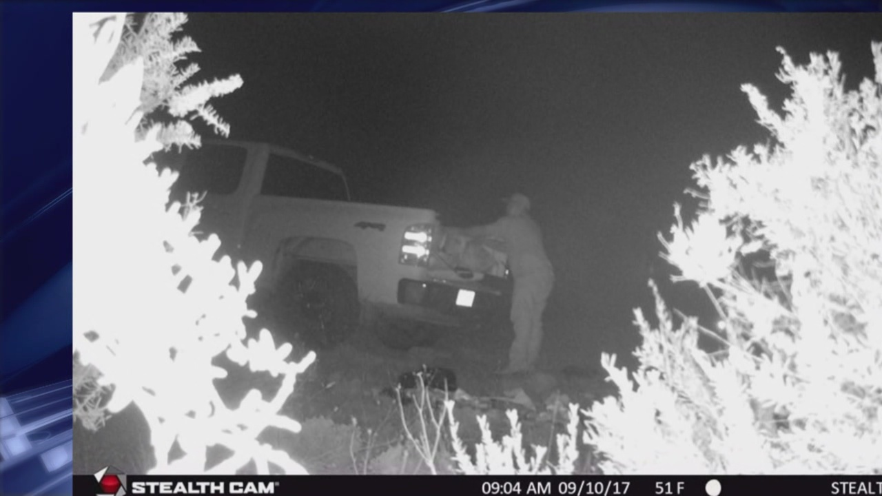 Torrance County officials ask for help identifying illegal dumping suspect_765404