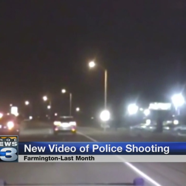 Video shows shows officer-involved shooting in Farmington_770668