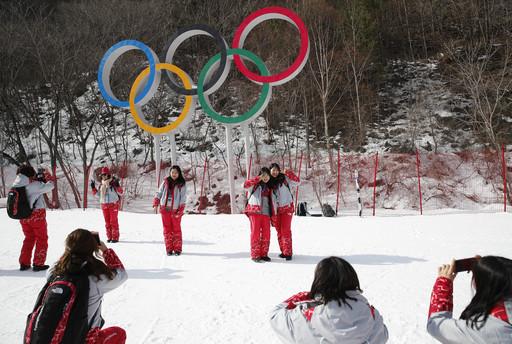 Pyeongchang Olympics Alpine Skiing_789104
