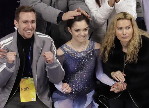 APTOPIX Pyeongchang Olympics Figure Skating Women_791128