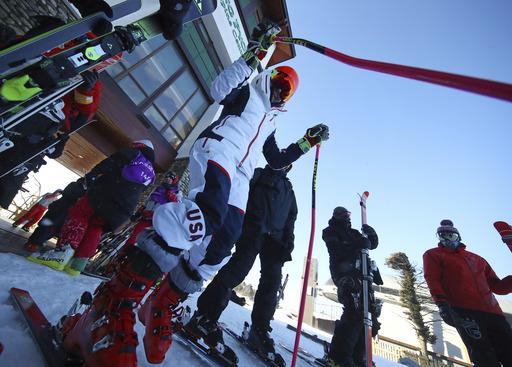 Pyeongchang Olympics Alpine Skiing_791951