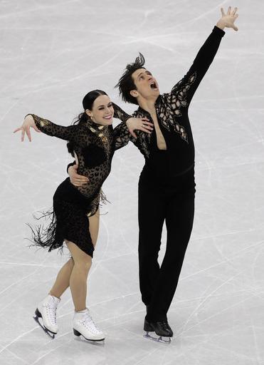 Pyeongchang Olympics Figure Skating Ice Dance_797821