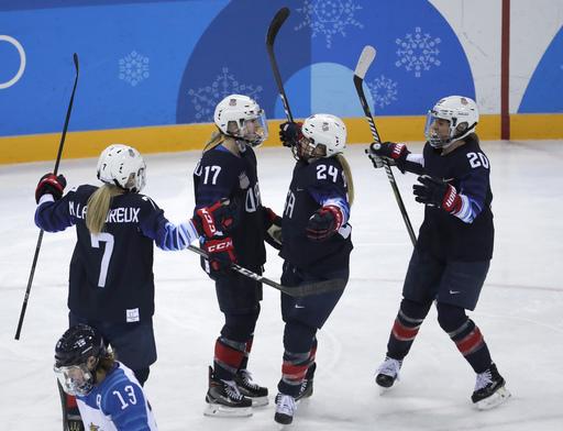 Pyeongchang Olympics Ice Hockey Women_799089