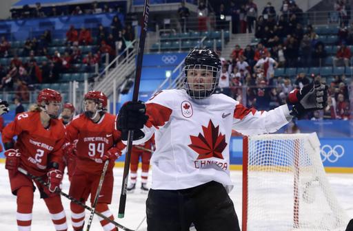 Pyeongchang Olympics Ice Hockey Women_797478