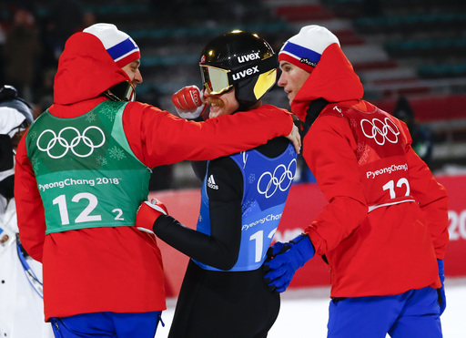 Pyeongchang Olympics Ski Jumping Men_797481