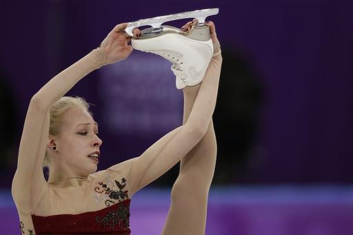 Pyeongchang Olympics Figure Skating Women_798948