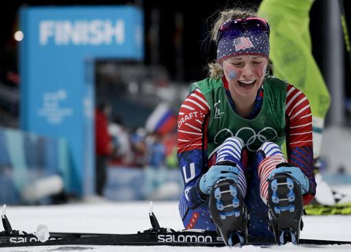APTOPIX Pyeongchang Olympics Cross Country Women_799196