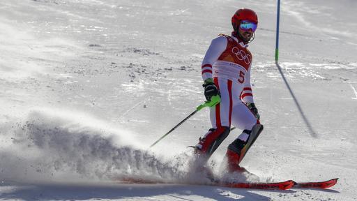 Pyeongchang Olympics Alpine Skiing_799805