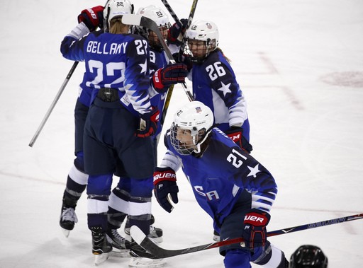 Pyeongchang Olympics Ice Hockey Women_799904