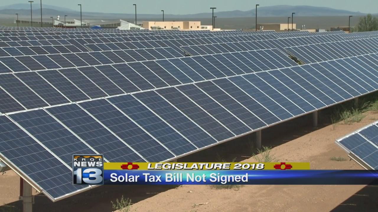 Governor Martinez vetoes solar energy tax credit bill_1520536957399.jpg.jpg
