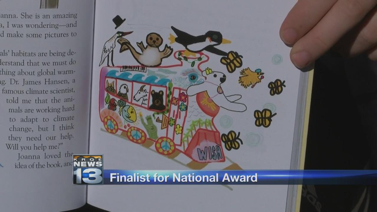 Local girls' book on climate change finalist for national award_1522261218330.jpg.jpg
