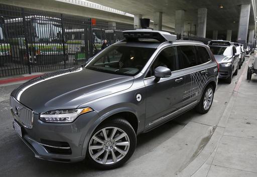 ap-Uber Self Driving Cars_492642