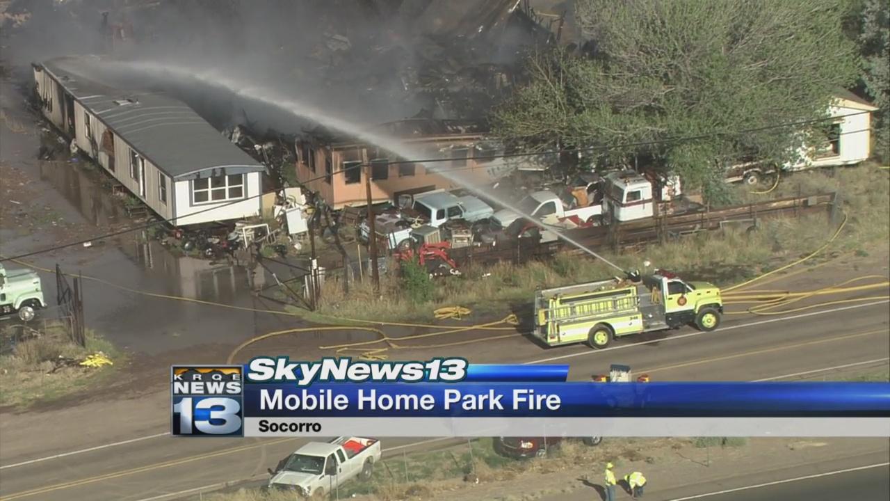 Fire burns through vacant mobile home park in Socorro_1526702879750.jpg.jpg