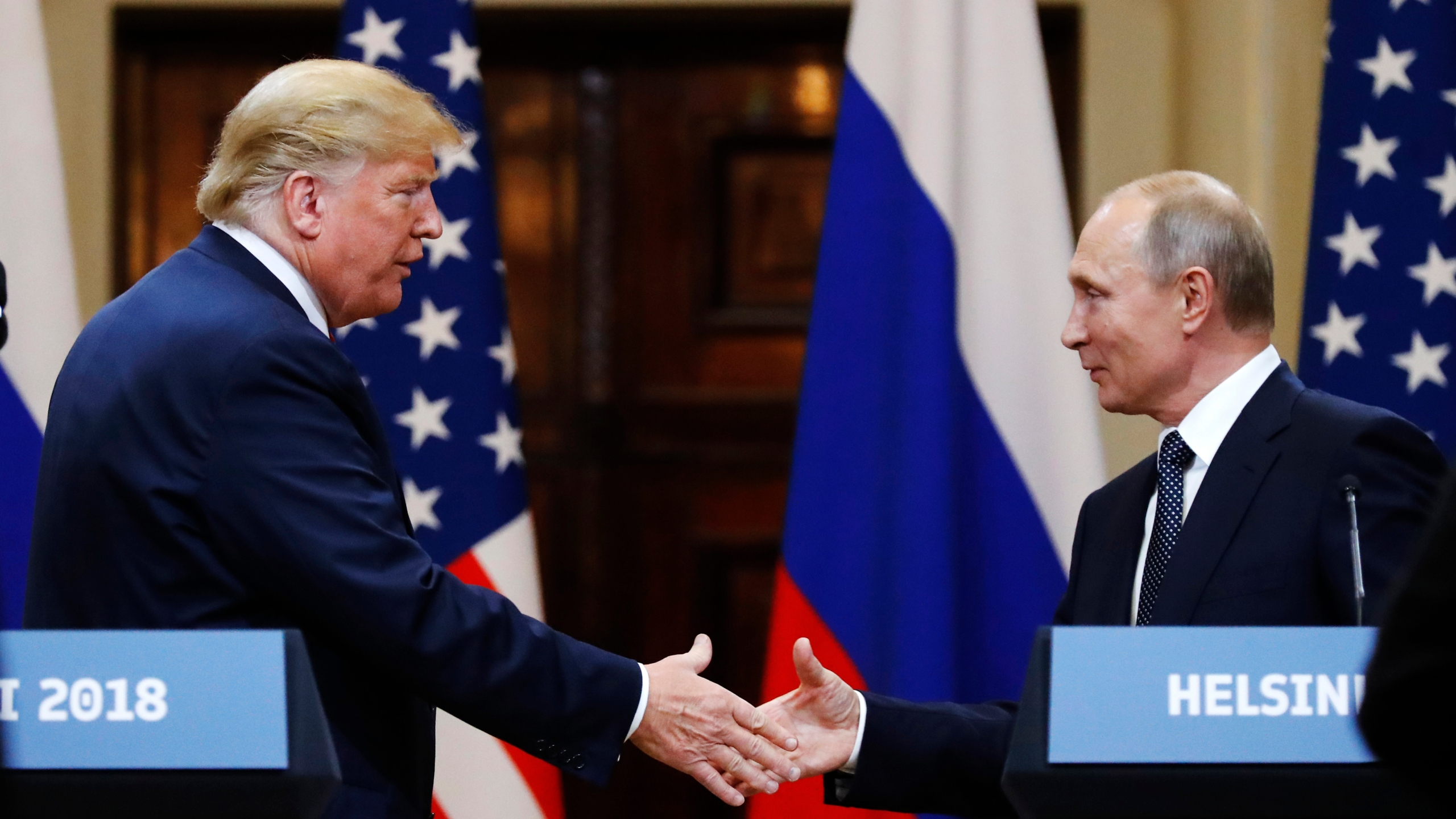 Amid Harsh Criticism Trump Tries A Tougher Tone On Russia