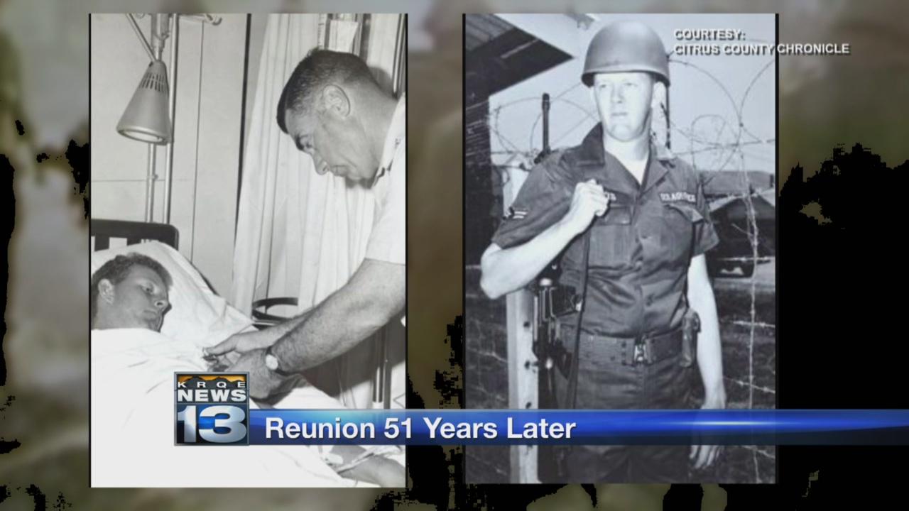 Florida airman meets soldier who saved his life